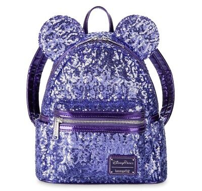 Minnie Mouse Purple Potion Backpack Loungefly Ears Disney World Theme Parks NEW