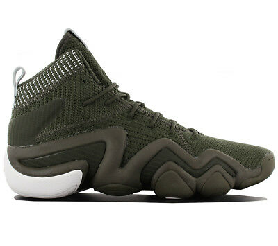 timeless design 4e715 639cf Adidas Crazy 8 Adv Pk Primeknit Chaussures Hommes de Basket-Ball Vert BY3604