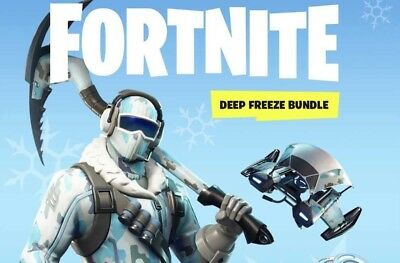 Fortnite Deep Freeze Bundle Xbox ONE Game. Please read... No Codes!!