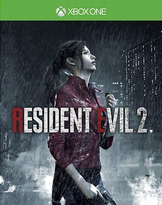Resident Evil 2 with Lenticular Sleeve (Xbox One)  NEW AND SEALED - IN STOCK