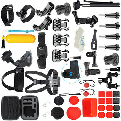 For GoPro Accessories Hero7/6/5/4 Bundle Camera Outdoor Sports Set Kit 58-in-1 L