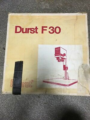 Durst F30.  Quality, Compact 35mm Condenser Enlarger with Original Box