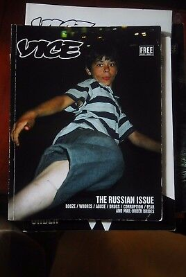 Vice Magazine The Russian Issue Vol 4 No 4 Ryan Mcginley Terry Richardson