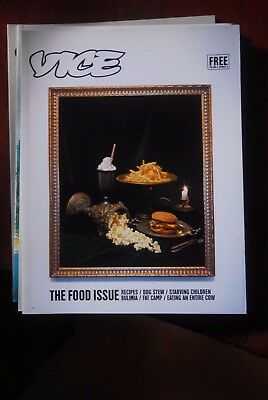 Vice Magazine - The Food Issue - Vol 4 No 3 -  Terry Richardson