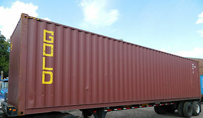 40 High Cube Steel Cargo Shipping Storage Container Detroit MI Containers