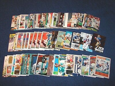 450c04b8d Dan Marino Miami Dolphins Pittsburgh Lot Of 103 Cards With Inserts (B19-4)