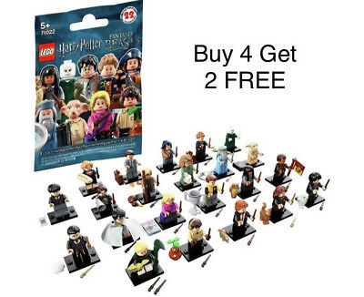 Lego Minifigures Harry Potter Fantastic Beasts Mini Figures BUY 4 GET 2 FREE ..