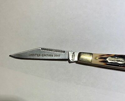 Schrade Uncle Henry Pocke Knife ~  2017 Limited Edition ~  Model 12UH