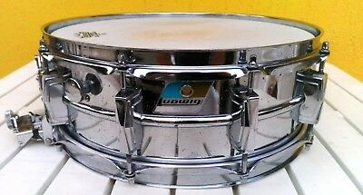 Ludwig Supersensitive snare 14x5 - 1971 - blue olive badge - imperial lugs