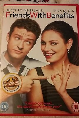 Friends With Benefits DVD (Justin Timberlake / Mila Kunis)