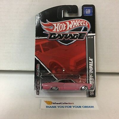 """#6//6 /'61 Chevy Impala Red Hot Wheels /""""F/&F The Fate of the Furious/"""" Series"""