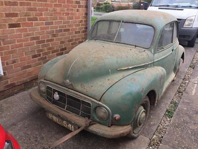 1948 Morris Minor Low Light Super Rare Restoration Project