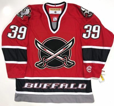 huge selection of 85662 39167 DOMINIK HASEK BUFFALO Sabres Red 3Rd Jersey Koho Replica ...