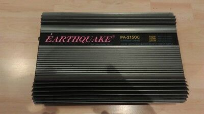 Earthquake PA2150C old school Rarität, 700 Watt rms analog, warmer Sound