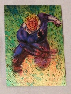 1996 Skybox Marvel Motion 3-D Lenticular #23 HUMAN TORCH Card