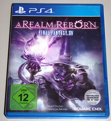 FINAL FANTASY XIV ONLINE: A REALM REBORN (PlayStation 4) PS4 DEUTSCH 14