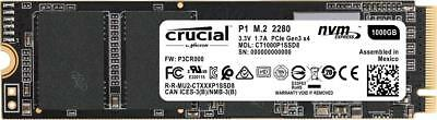 Crucial P1 1To 3D NAND NVMe PCIe M.2 Type 2280 CT1000P1SSD8 Internal SSD