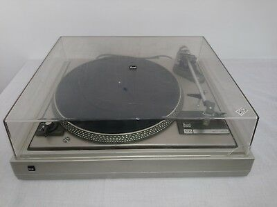 Dual CS 505-1 belt drive turntable with hinged dust cover GRADO FC+ cartridge