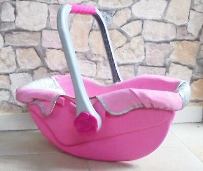 Baby Born Autositz Baby Wipper Zapf Creation rosa Puppen