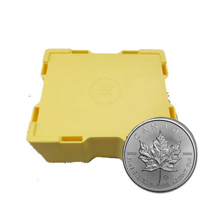 2019 Mint Sealed box of 500 Silver Canadian Maple Leaf 1 oz Coins Bank Wire Only
