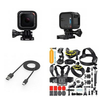 GoPro HERO5 Session CHDHS-501 Camera + Extreme Sports Bundle!