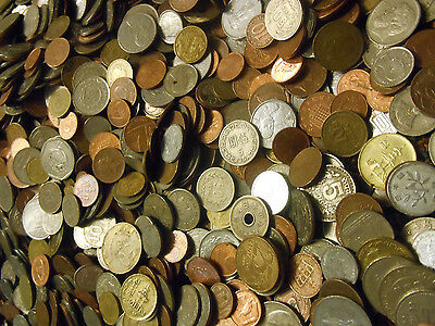 100 Assorted World Foreign Coins Estate Buyout Lot 4