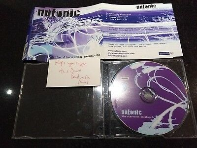 """Nutonic """"The Discarded Sessions"""" Rare Promo Cd (Blind Diviner)"""