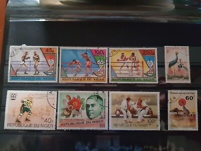 Niger Used Stamps.
