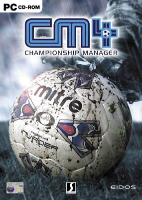 Championship Manager 4 - Football Soccer Management Game PC NEW (CD in Sleeve)