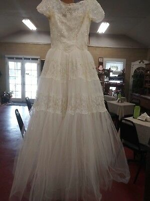 Vintage wedding dress/costume