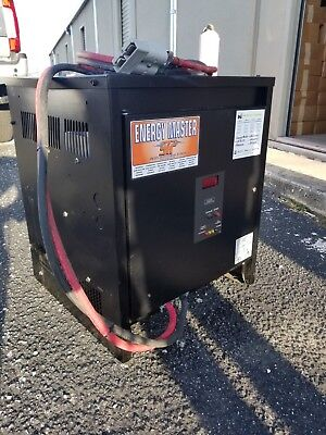 36 Volt Energy Master Lift Truck Battery Charger Ah 1260, Ac Volt In 208/240/480