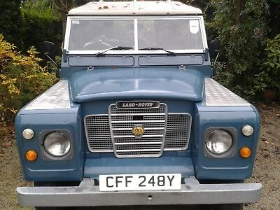 land rover series 3 diesel 1982 with overdrive