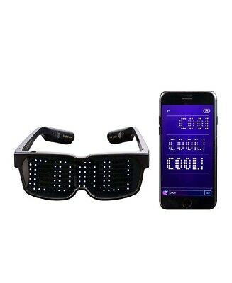 CHEMION -Bluetooth LED Glasses-Party - Display Messages, Animation, Drawings