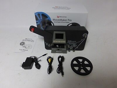Wolverine Data MovieMaker PRO 8mm and Super 8 Converter - Up to 9 Reels- AS IS-A