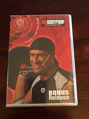 RARE Les Mills Body Pump Bonus New DVD, CD, Instructor Notes, Fitness Workout