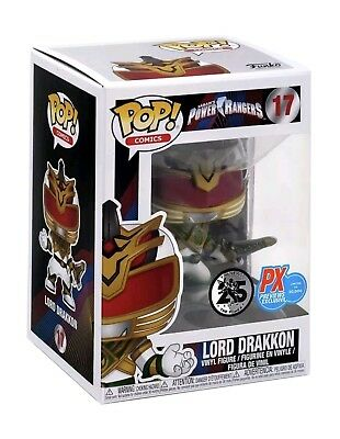 Funko POP Comics Power Rangers #17 Lord Drakkon Previews Exclusive Px Vinyl NEW