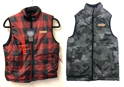 NEW!! Buffalo Boy's Reversible Vest Variety