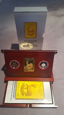 Investment Coin Set 2009 Springbock Malawi Gold Dynamic Holo-Silber Dynamic Holo