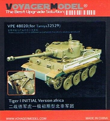 Voyager VPE48020 - 1/48 Tiger I initial Version Africa (for Tamiya 32529)
