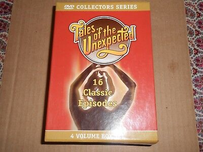 Tales of the Unexpected DVD Set - 4 Volumes 16 Episodes
