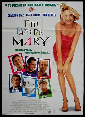 M114 Manifesto 2F Tutti Pazzi Per Mary There's Something About Mary Diaz Stiller