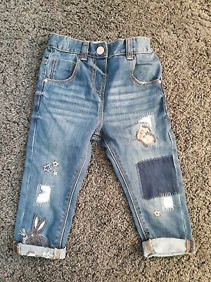 girls brand new next jeans age 1.5 years - 2 years
