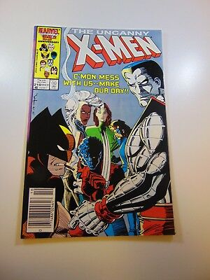 Uncanny X-Men #210 VF/NM condition Huge auction going on now!