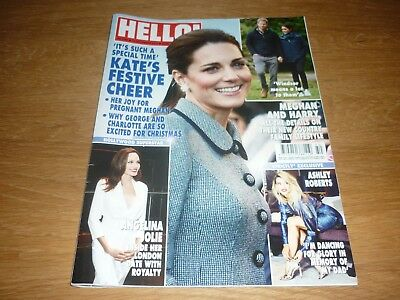 Hello! Magazine #1562 10th December 2018 KATE & MEGHAN & HARRY GOOD CONDITION