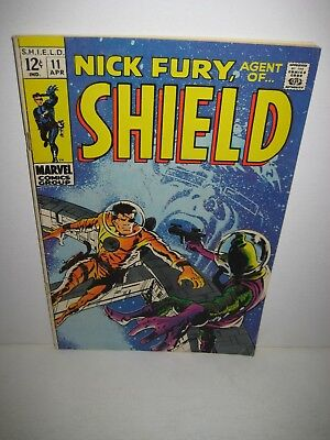 Nick Fury Agent of SHIELD 11 Marvel Comics Silver Age