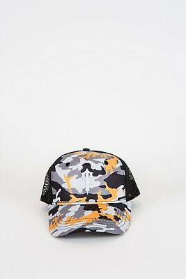 21cd09b2d TRAPSTAR LONDON DECODED T Logo Curved Visor Mesh Trucker Snapback Cap  Camo*Bnwt*