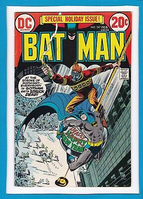 Batman #247_February 1973_Very Fine_Special Holiday Issue_Bronze Age Dc!