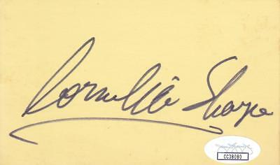 Robert Stephens D 1995 Signed 3x5 Index Card Actress/sherlock Holmes Jsa Cc39521 Autographs-original Movies
