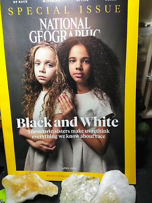 National Geographic Magazine April 2018 Special Issue Black and White