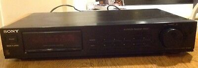 Sony ST S-110 Vintage FM/MW Tuner Separate
